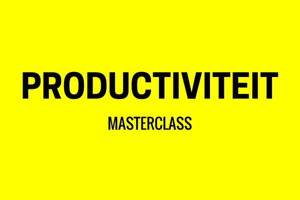 Verbeter je productiviteit en maak meer winst